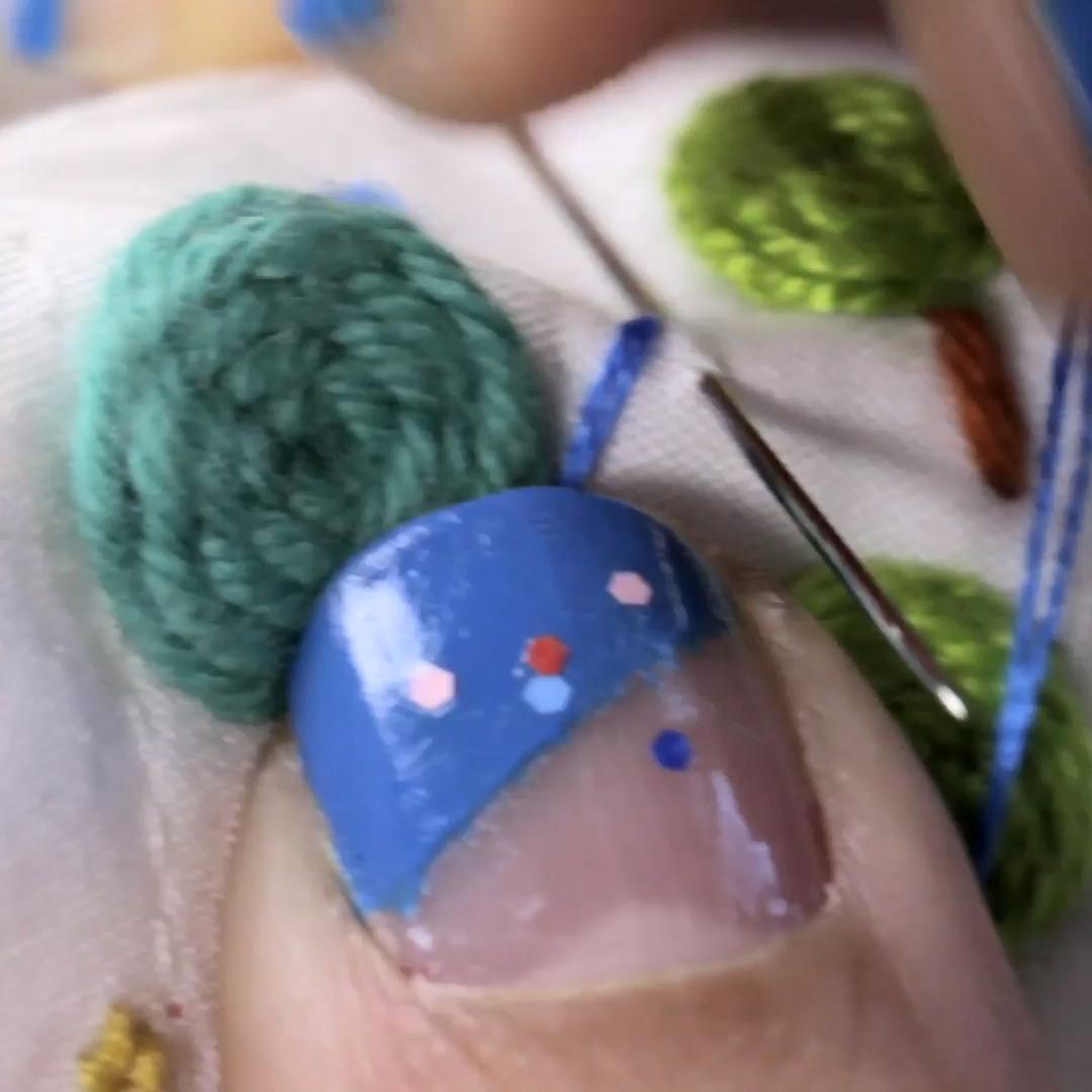 """""""Técnicas básicas de bordado: puntadas, composiciones y gamas cromáticas"""". Un curso online de Craft de Señorita Lylo"""