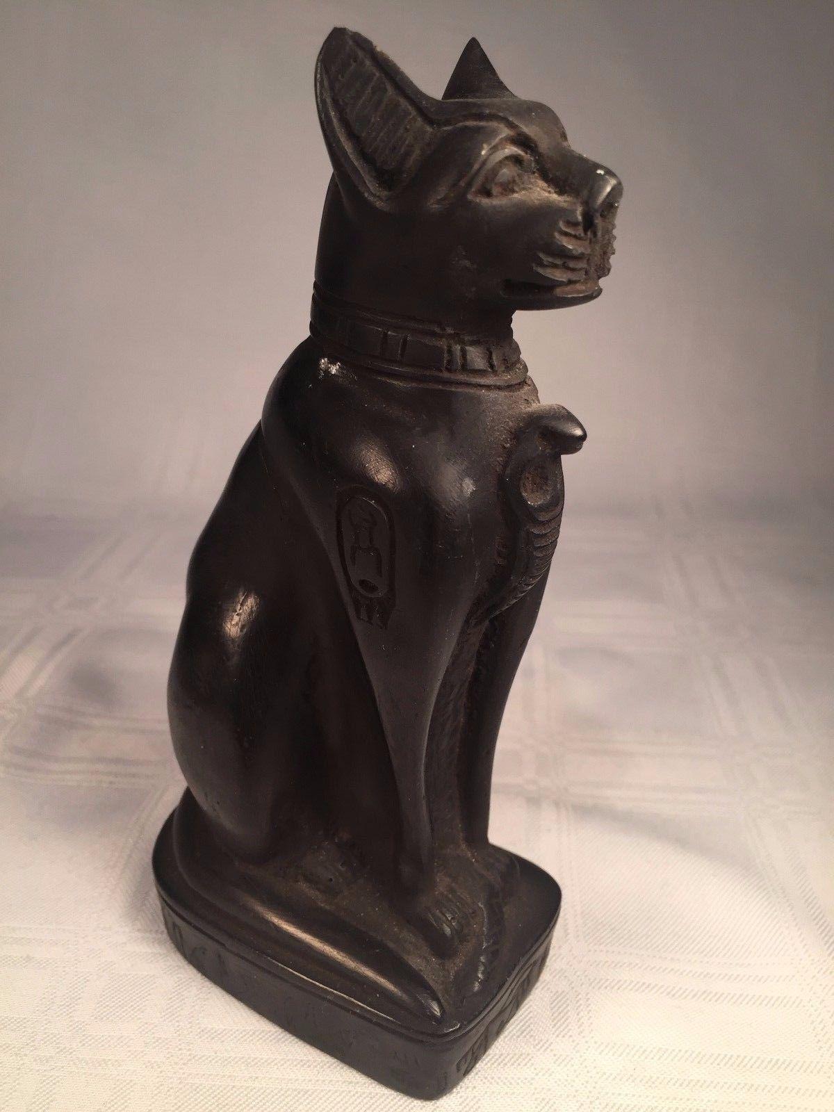 ANCIENT EGYPTIAN CAT GODDESS BAST BASTET SOAPSTONE ...