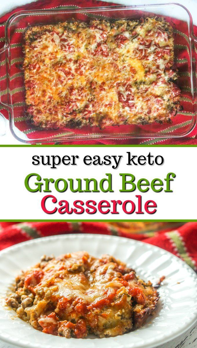Low Carb Keto Ground Beef Casserole Recipe Ground Beef Casserole Low Carb Dinner Recipes Beef Recipes