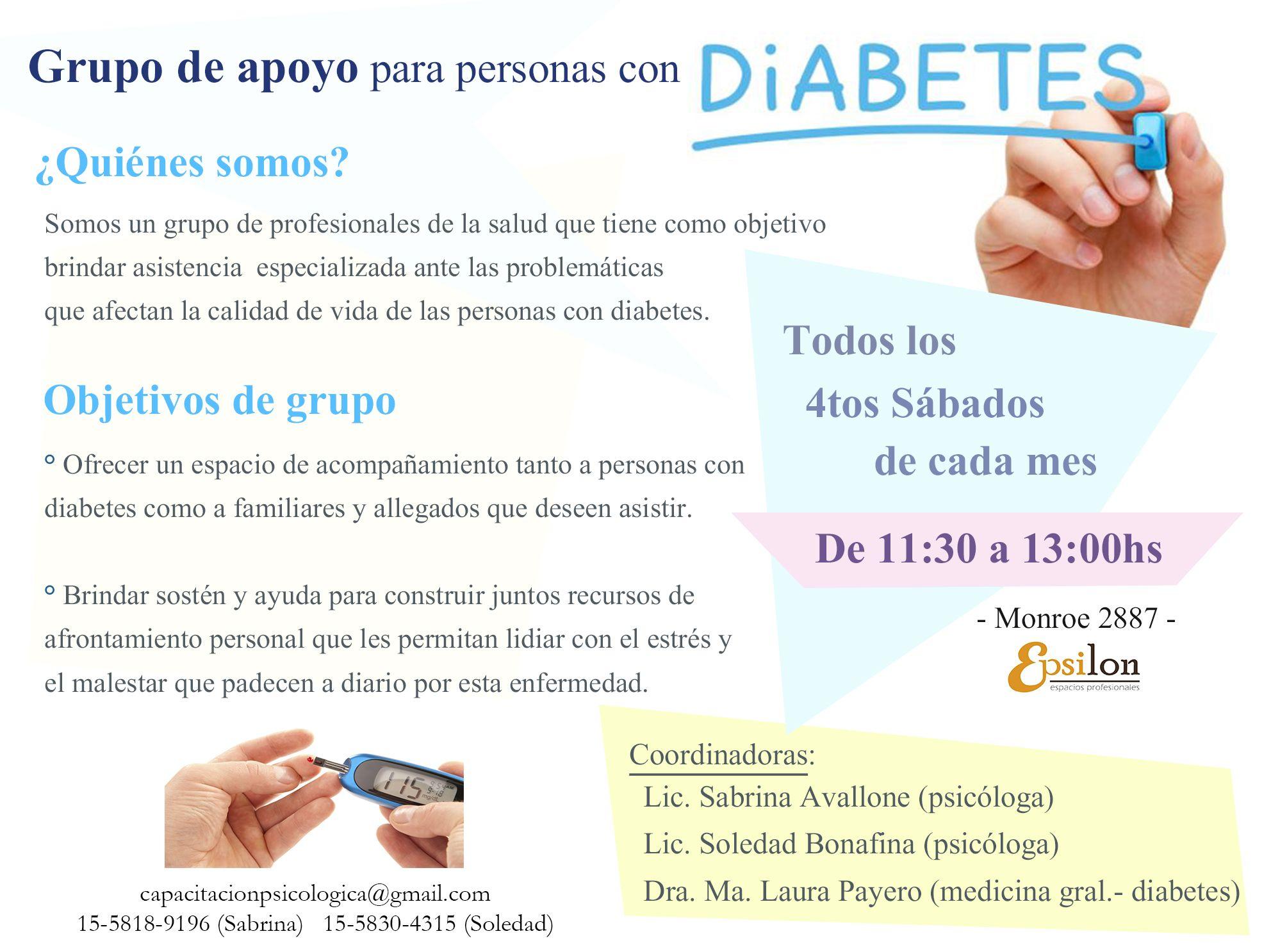 grupos de apoyo para la diabetes en massachusetts
