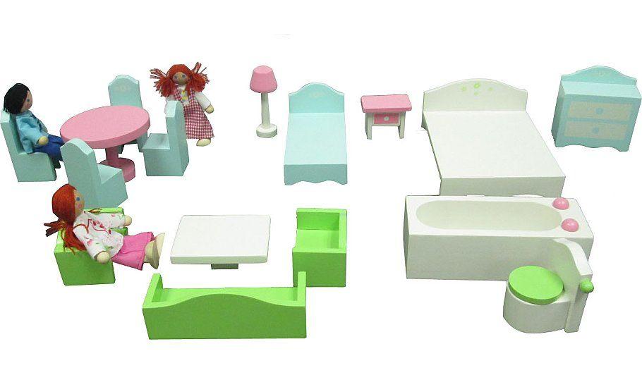 Dollhouse Furniture Set Twiglet Dollhouse Furniture Sets Wooden