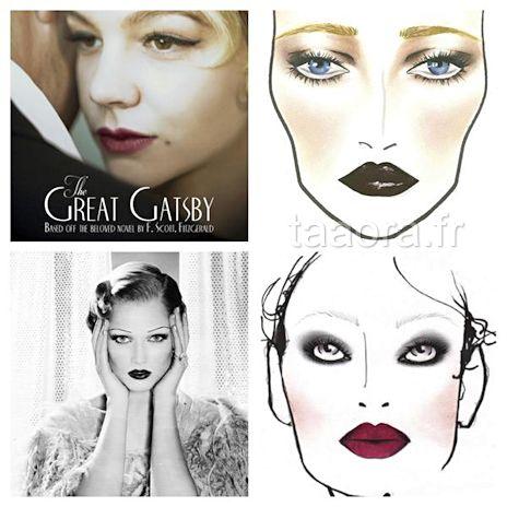 Comment faire un maquillage ann es 20 robes pinterest maquillage ann e 20 ann e 20 et - Maquillage annee 20 ...