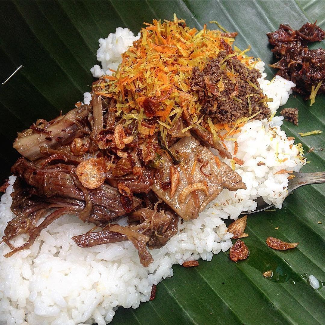 Resep Ayam Suwir Nasi Krawu Khas Gresik Resep Resep Ayam Ide Makanan Semur Daging
