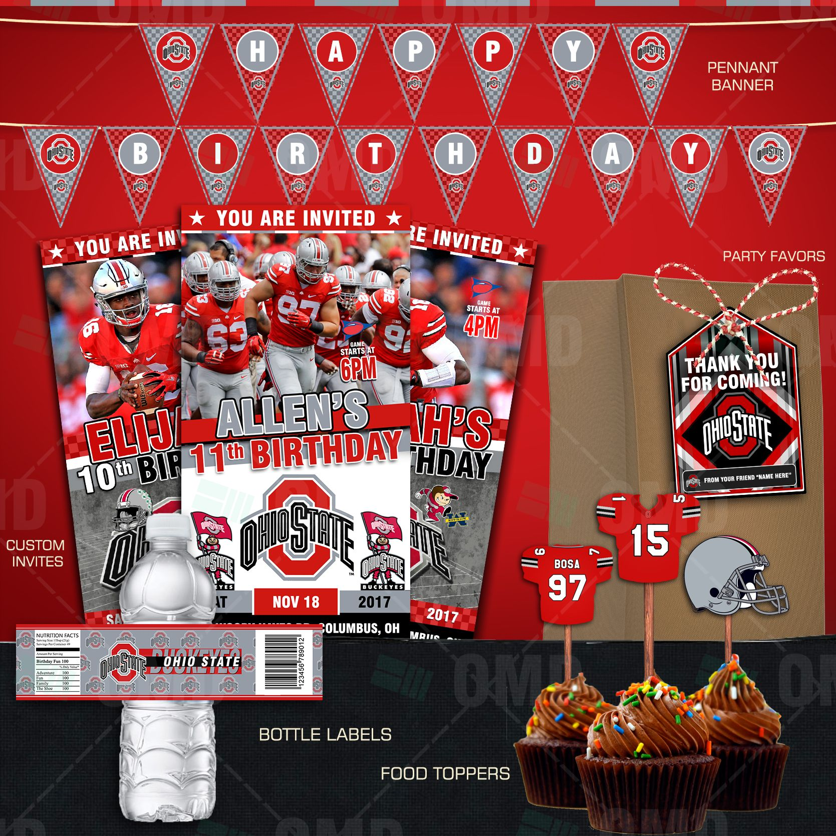 Ohio State Buckeyes Ultimate Party Package