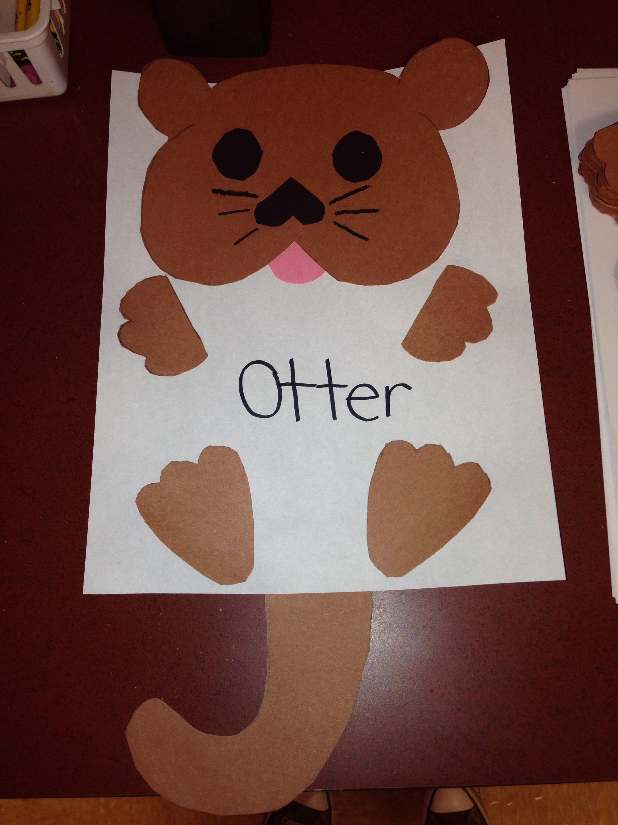 Oo For Otter Craft