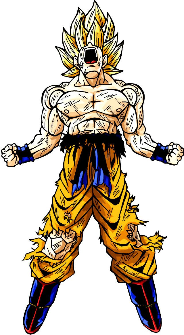 Goku Sj1 Dragonball Dbz Con Imagenes Personajes De Dragon
