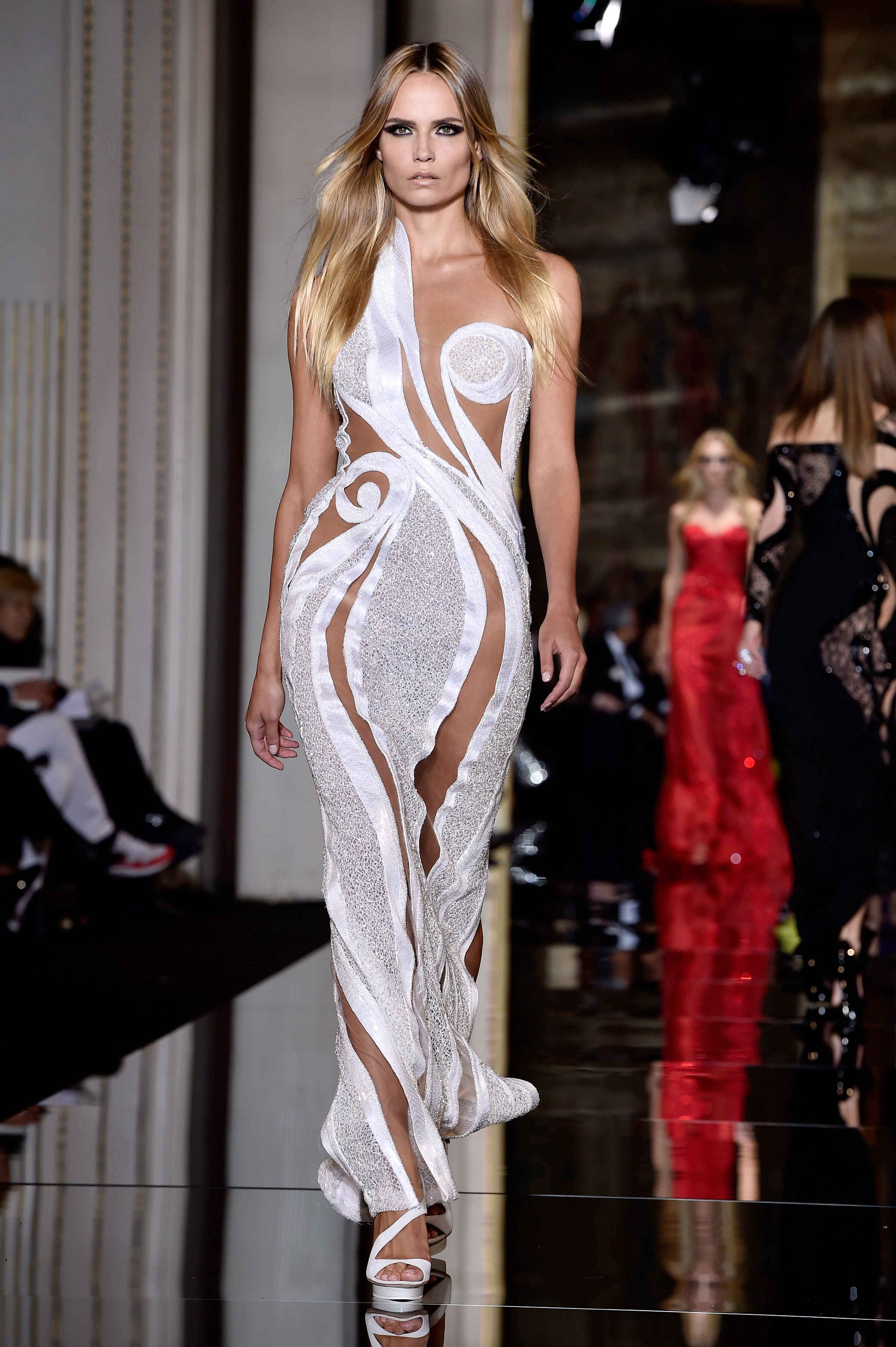 Colorful Versace Gowns 2015 Adornment - Evening Dresses Ball Gowns ...