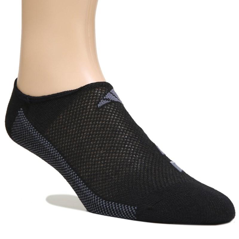 adidas Men/'s Climacool Superlite Super No Show Socks 3 Pack Size 6-12