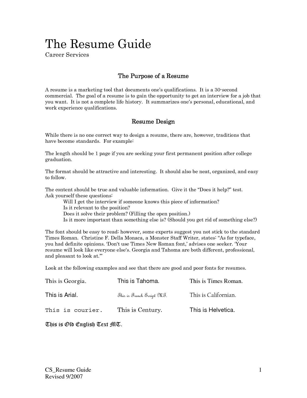 First Job Resume Examples, First Job Resume Examples