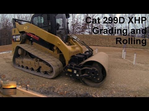 Cat 299d xhp grading and rolling with a cat cv16b vibratory drum cat 299d xhp grading and rolling with a cat cv16b vibratory drum compactor youtube publicscrutiny Image collections