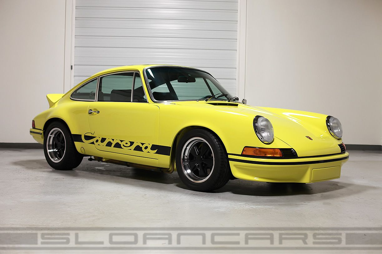 1973 porsche rs 1973 carrera rs tribute light yellow black 1973 porsche rs 1973 carrera rs tribute light yellow black restored vanachro Choice Image