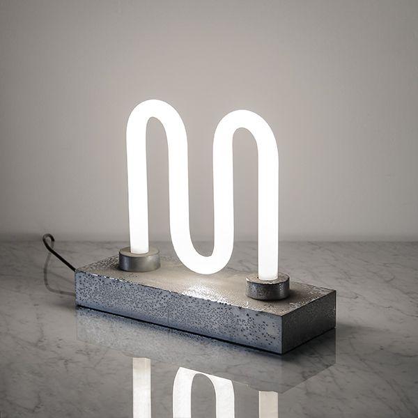 DESIGN M / INGO MAURER / ultra rare lamp. #rassphome #contemporary #minimal #modern #lights