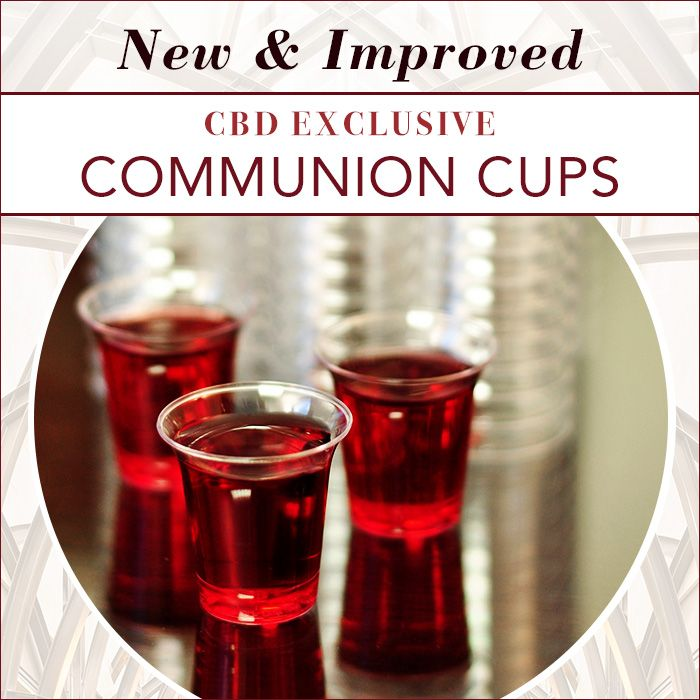 Value Priced Communion Cups - Plastic | Church Resources & Ministry