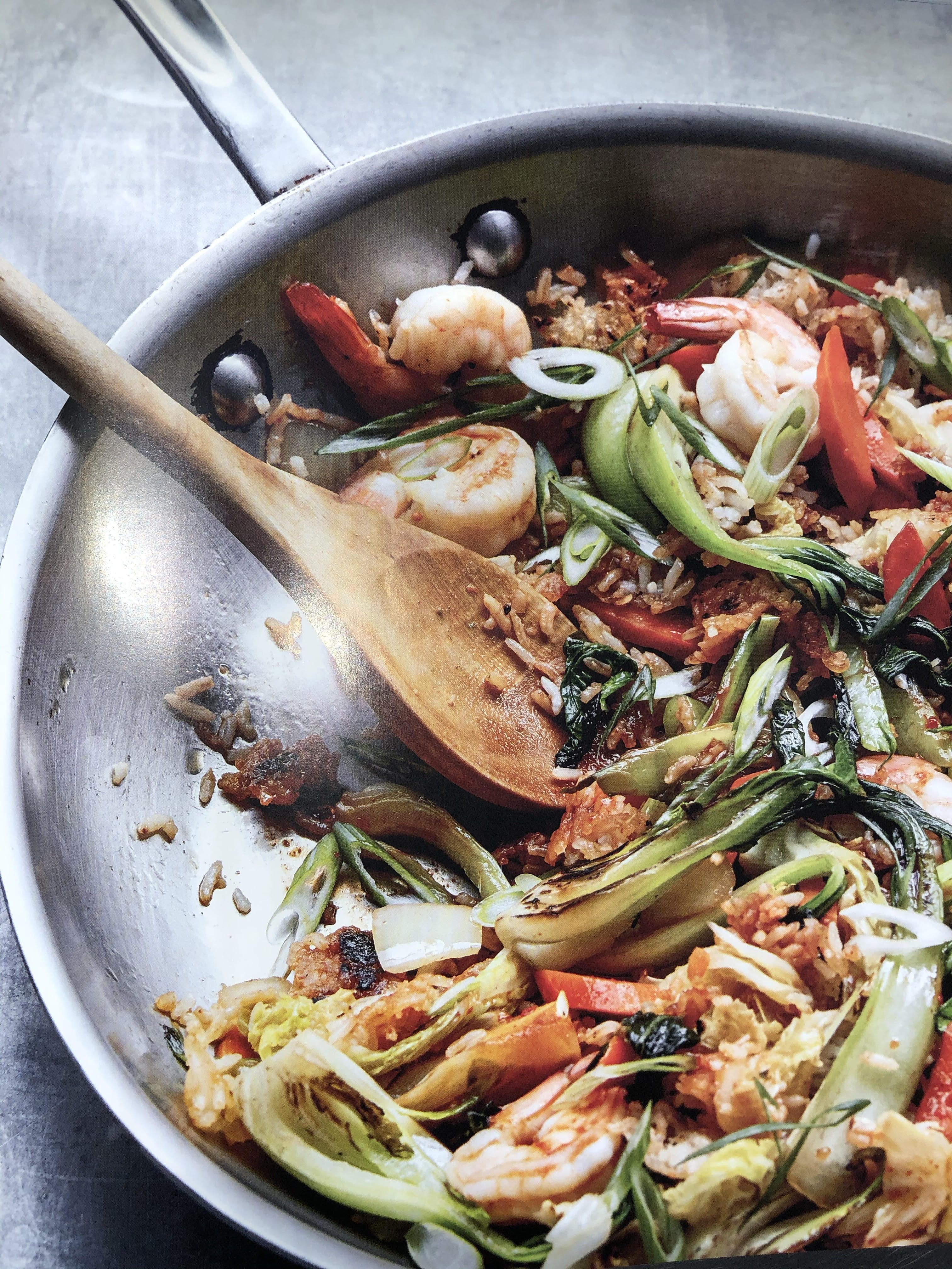 Dorie greenspan ginger fried rice from everyday dorie in