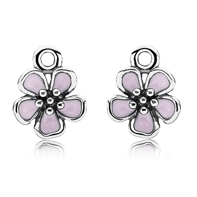 Pandora cherry blossom with pink enamel compose earring charms pandora cherry blossom with pink enamel compose earring charms mightylinksfo