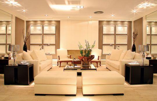 decoracao interior sala bege - Pesquisa Google
