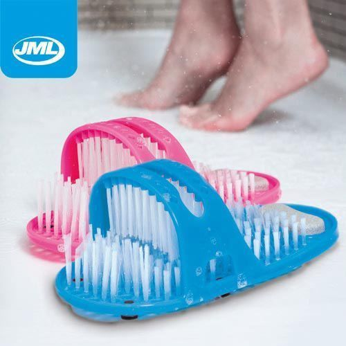 JML Shower Feet Genuine Cleans/Massages Feet   Available In Pink