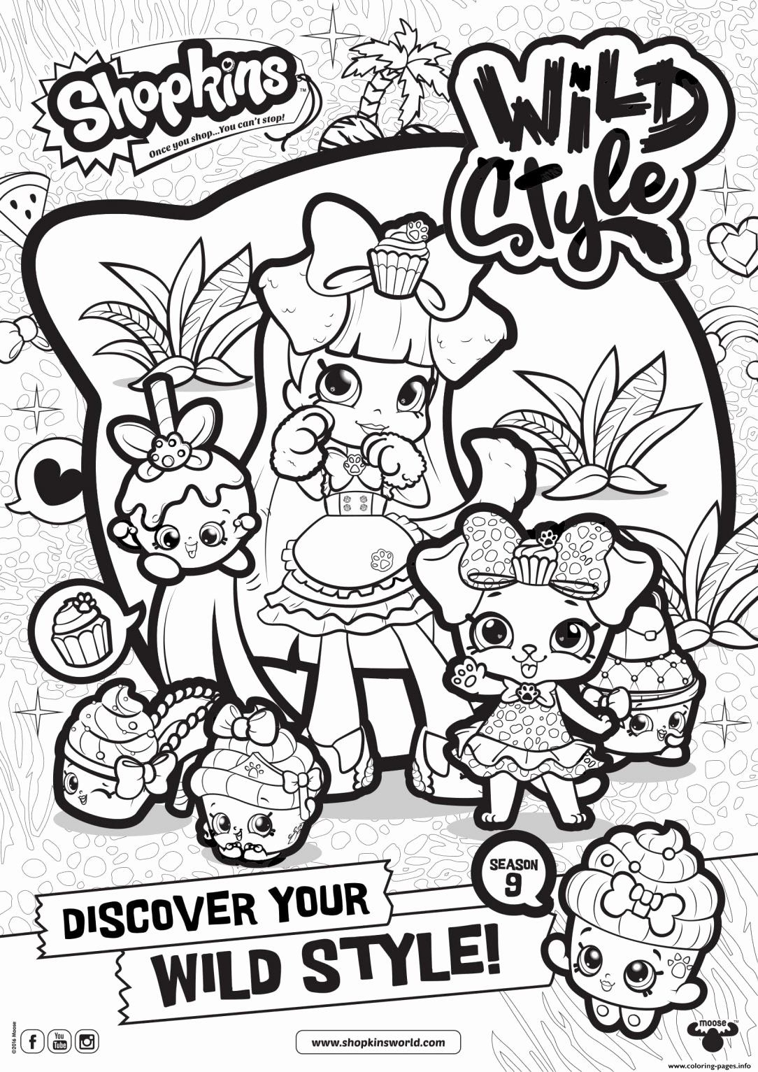 Shopkins Printable Coloring Sheets Awesome Coloring Pages Shopkins Page Coloring Book Choco In 2020 Cute Coloring Pages Shopkin Coloring Pages Shopkins Colouring Pages