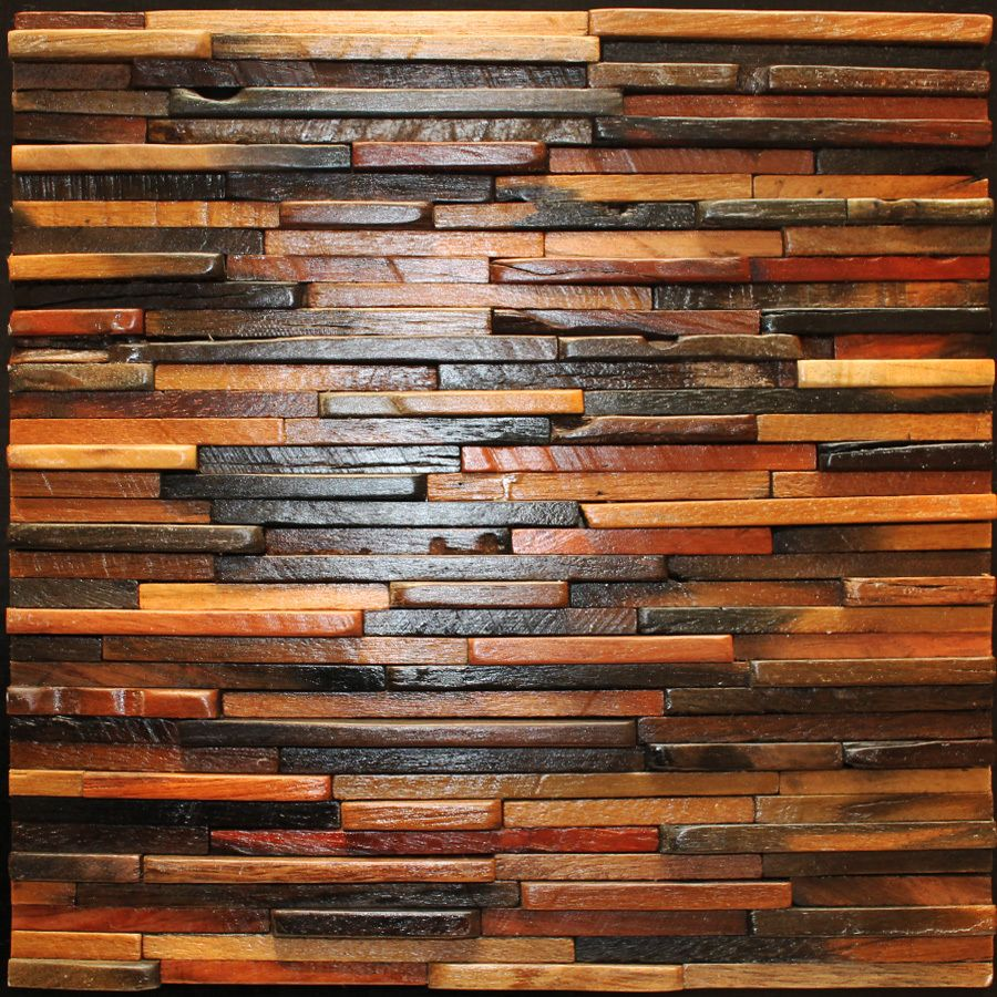 Wall Decorative Tiles Extraordinary Construction Wood Wall Tiles 3D Home Walls Decorative Panels Design Inspiration