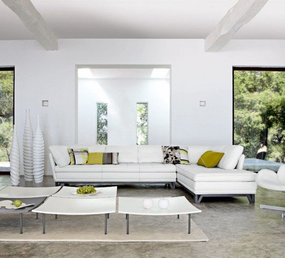 Contemporary Furniture And White Living Room Design In Techno Style Part 69