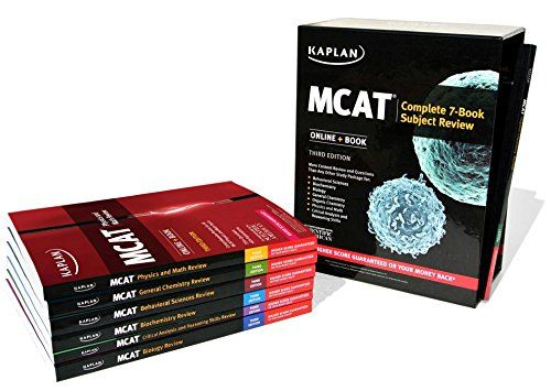 Mcat Complete 7book Subject Review Online Book Kaplan Test Prep More Info Could Be Found At The Image Url Mcat Test Prep Books