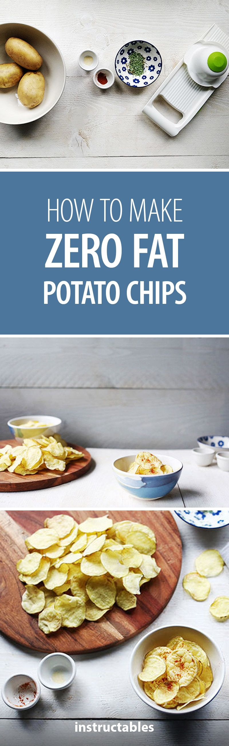 how to make potato crisps