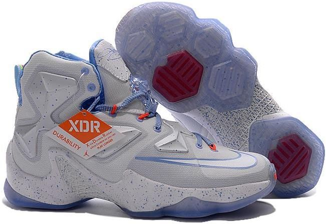 on sale b906e bd354 Lebron 13 White Light Blue Red. Lebron 13 White Light Blue Red Buy Nike  Shoes ...