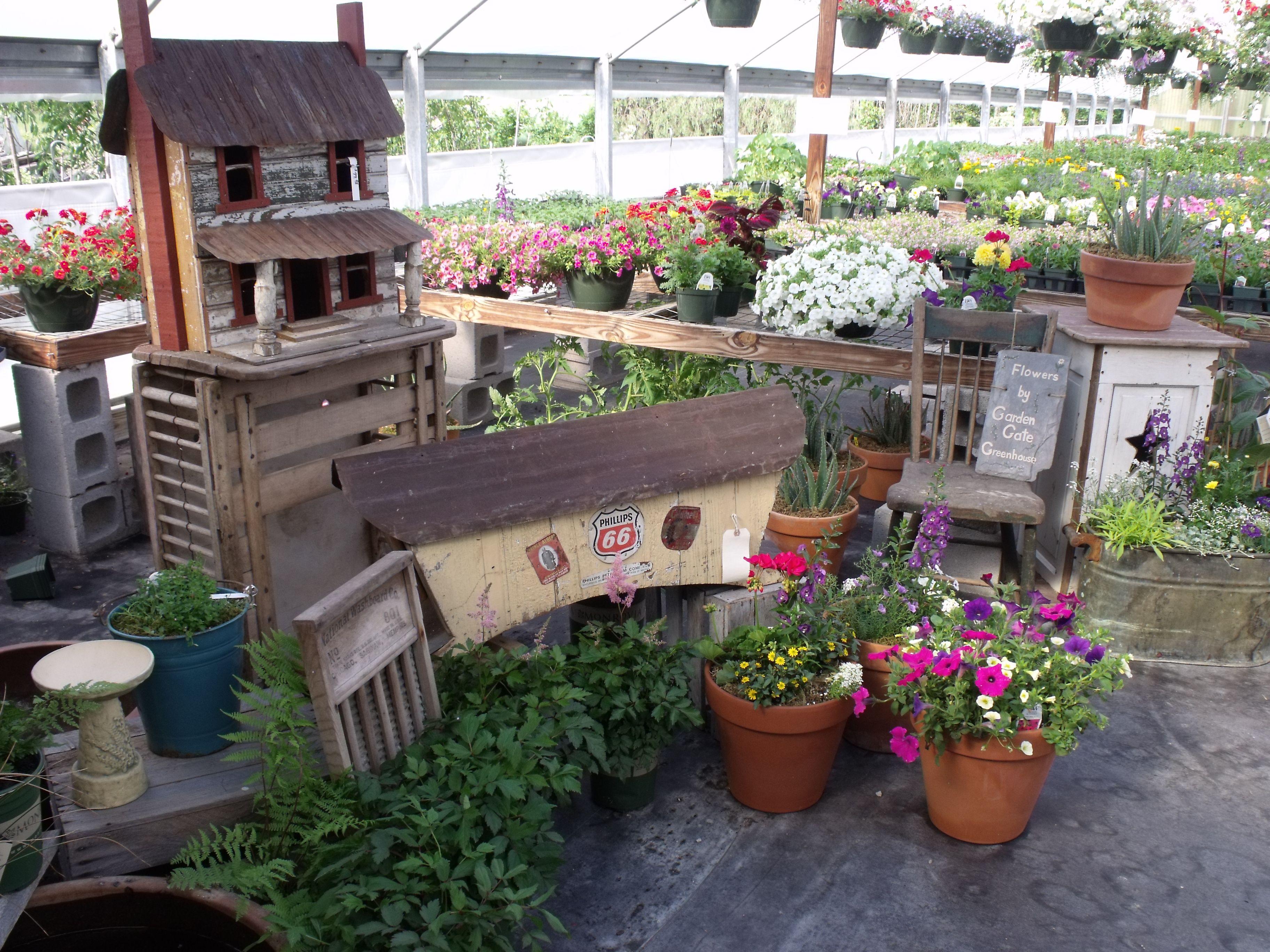 Rustic Garden Decor