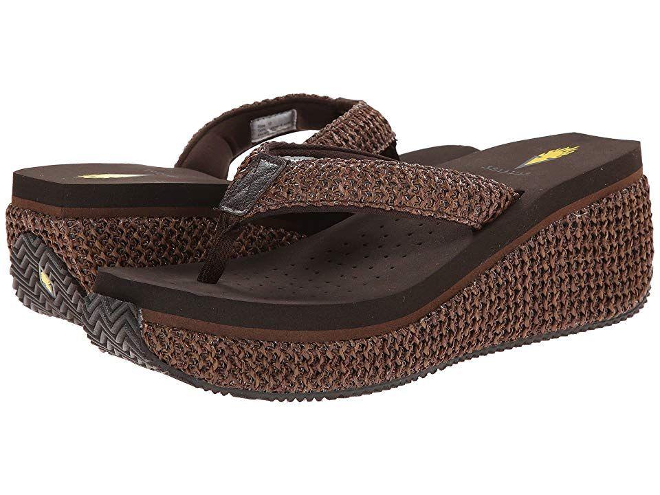 Volatile Womens Island Wedge Sandal