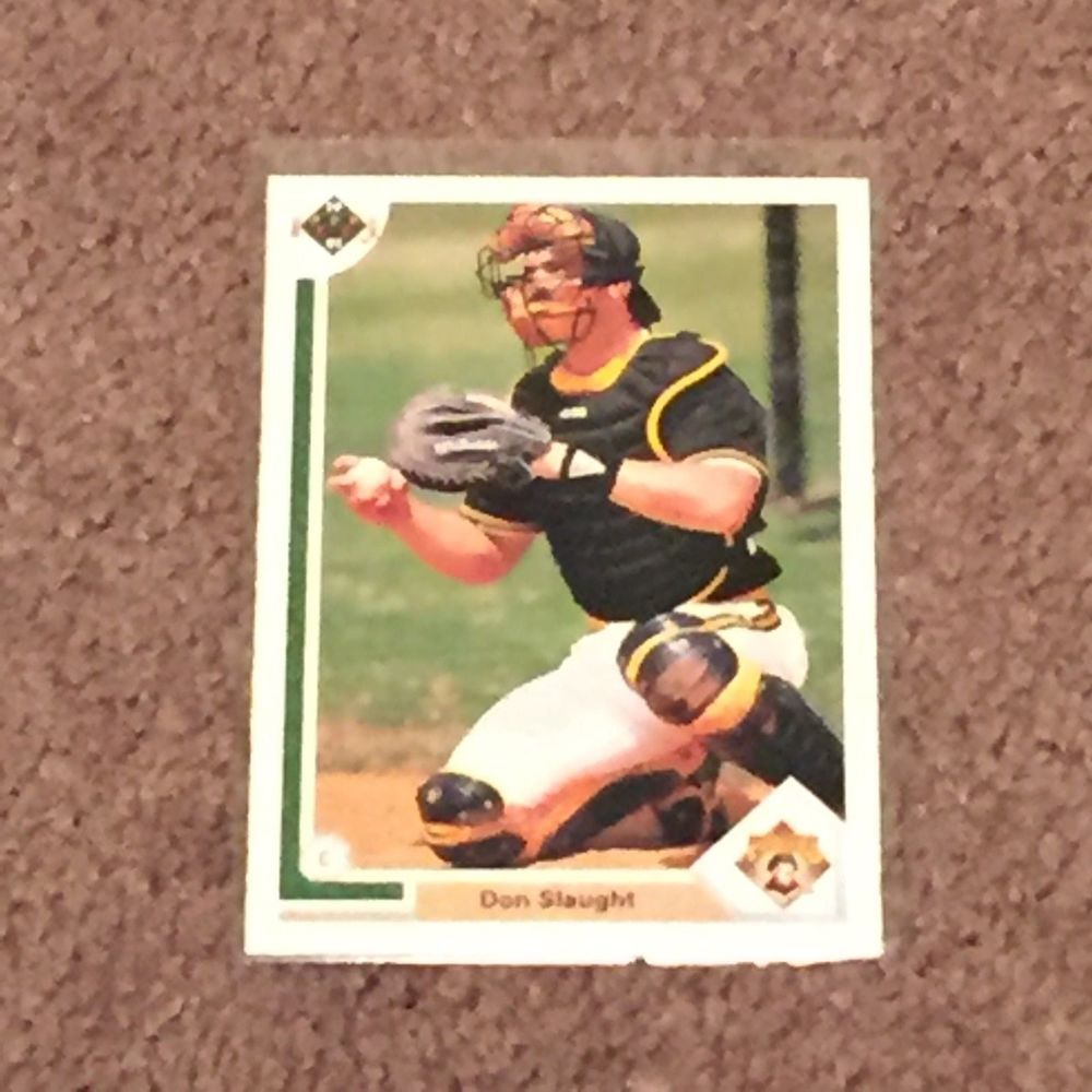 1991 upper deck 181 don slaught pittsburg pirates