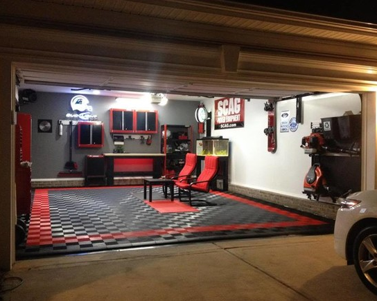 The Garage The Ultimate Man Cave Roll Up Door By Smart Garage