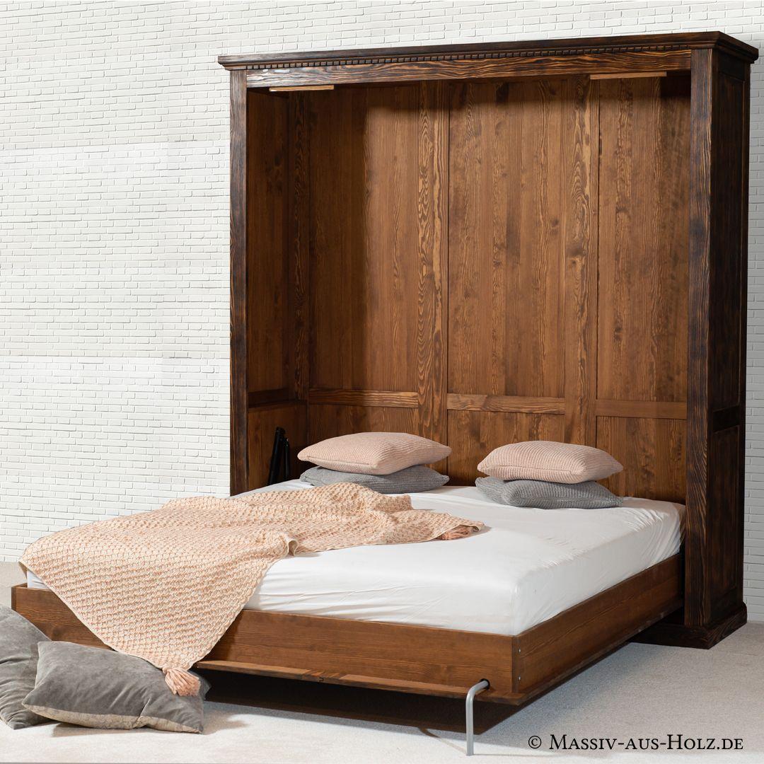 Das Schrankbett ist der Retter in der Wohnraumnot und dabei ein