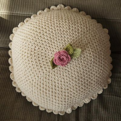 May Day cushion, free pattern by Is it a toy.