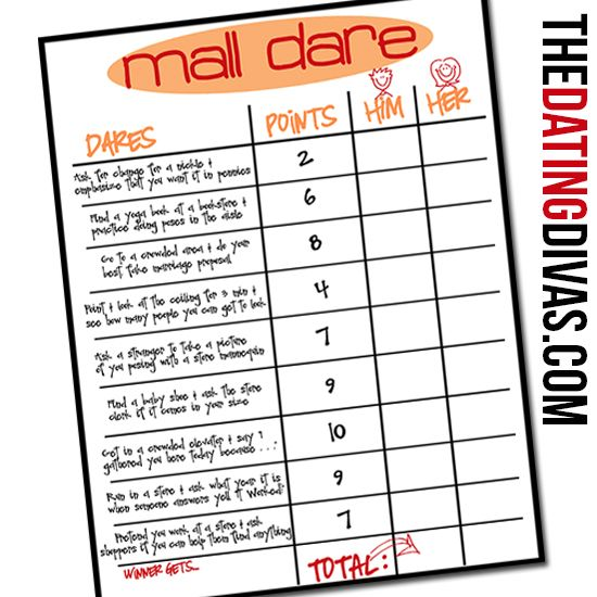 Embarrassing Dares For The Mall - From