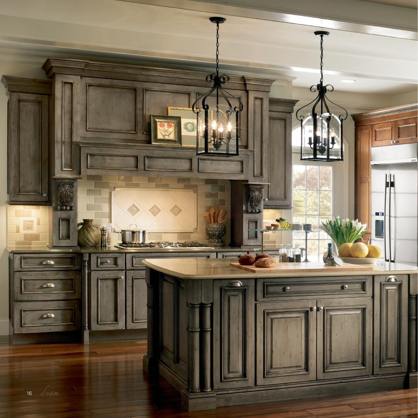 Medallion Kitchen Cabinets Wine Rack Island Cabinetry I Like The Color Main Floor Remodel