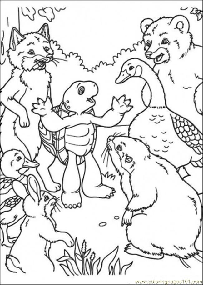 Franklin The Turtle Coloring Pages Google Search I Teach K