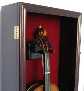Amazoncom Mandolin Fiddle Violin Display Case Shadow Box