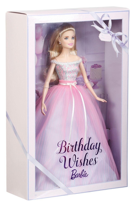 Birthday Wishes Barbie Doll DVP49 Barbie Birthday