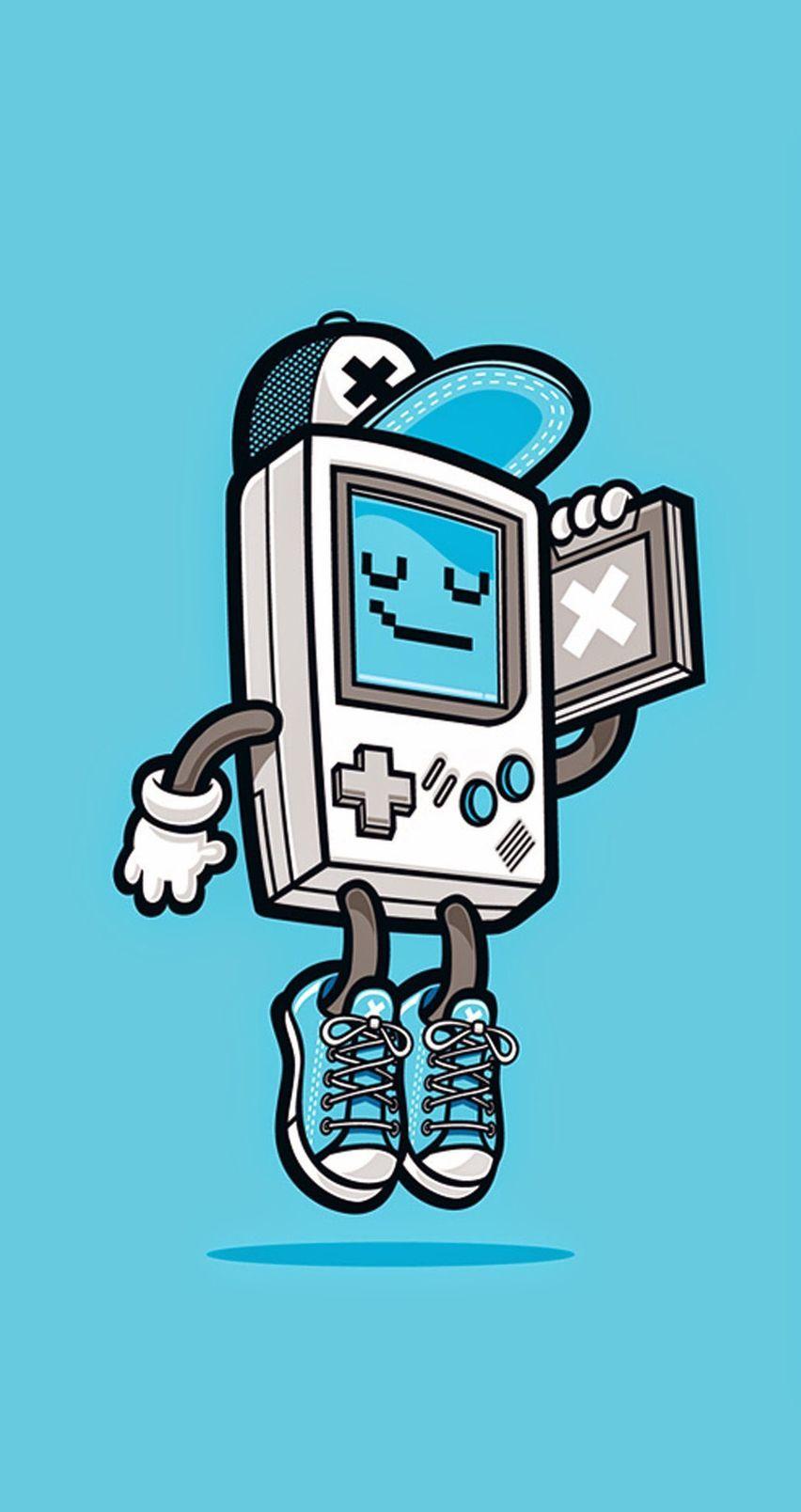 Cute & Funny Pop Art cartoon wallpaper for iPhones