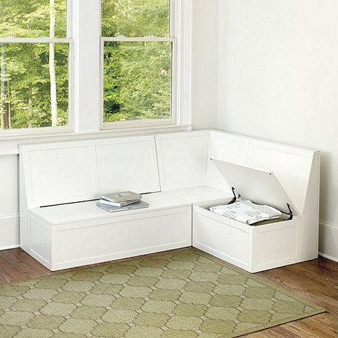 Breton 3 Piece Banquette Ballard Designs Banquette Corner Bench Side Chair Dining Room