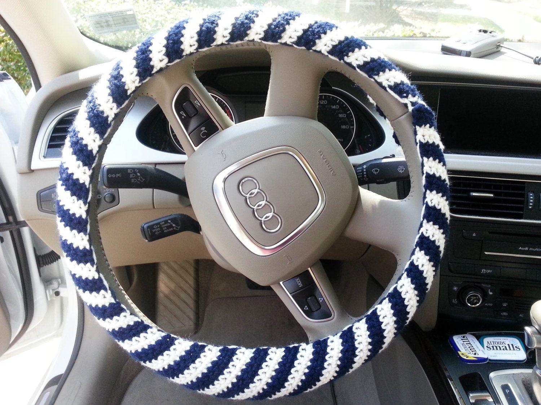 Crochet steering wheel cover steering wheel cozy car by