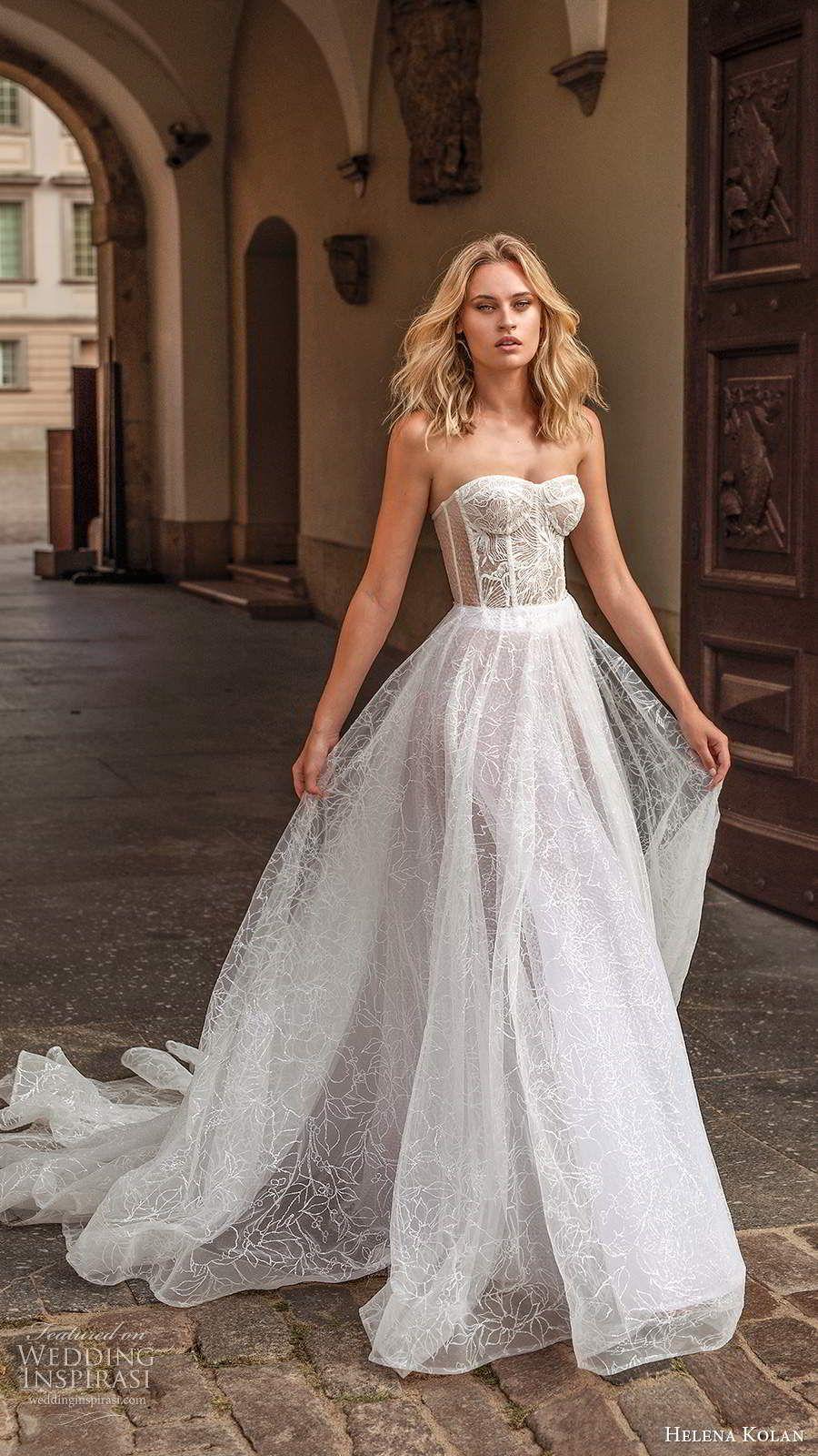Helena Kolan 2020 Wedding Dresses Forever Bridal Collection Wedding Inspirasi Sheer Wedding Dress Ball Gown Wedding Dress Ball Gowns Wedding,Nursing Dresses For Wedding Guest