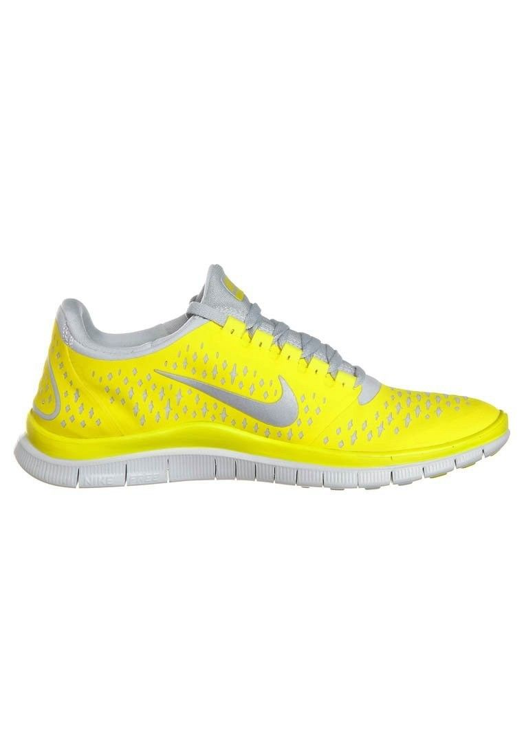 buy online e1067 d78fd Nike Free 3.0 V4 Men s Running Shoe Yellow Silver,Latest trainers arrive -  order from us with good price.