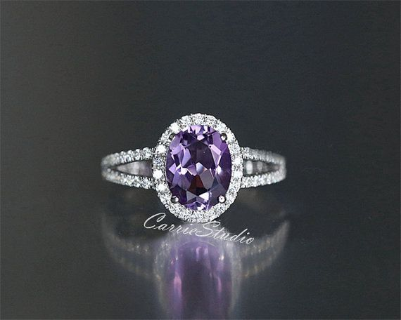 Pin On Amethyst Engagement Rings
