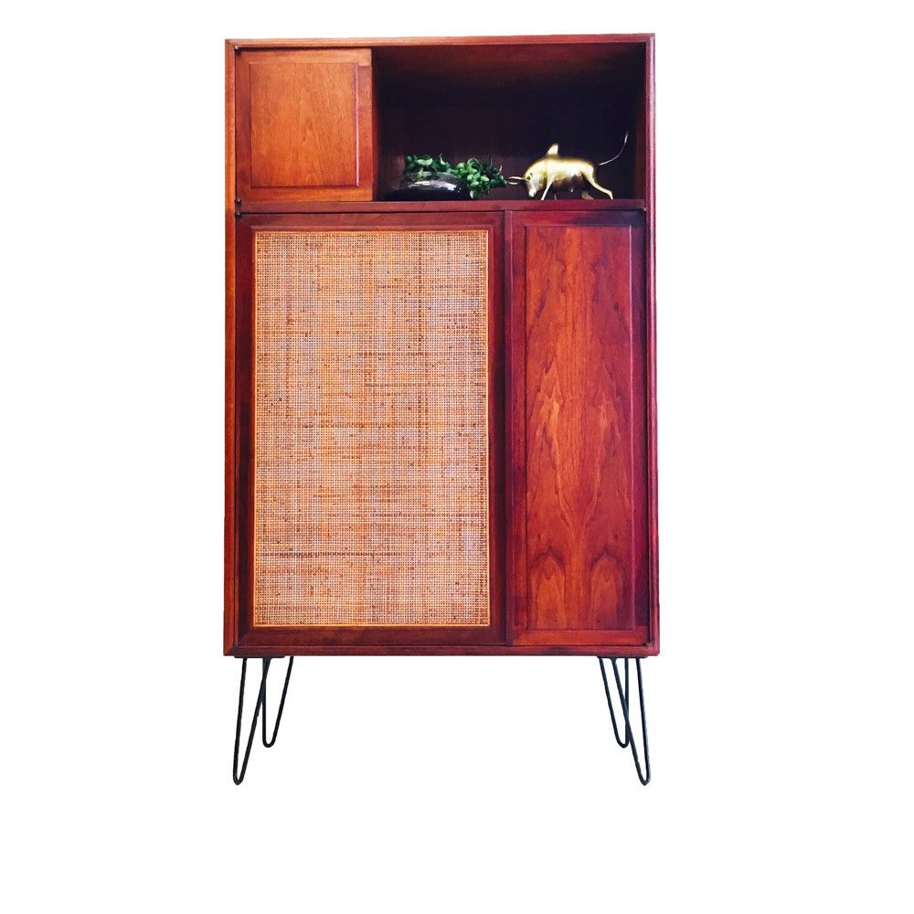 Mid Century Founders Furniture Cabinet By Jack Cartwright - Cartwright furniture