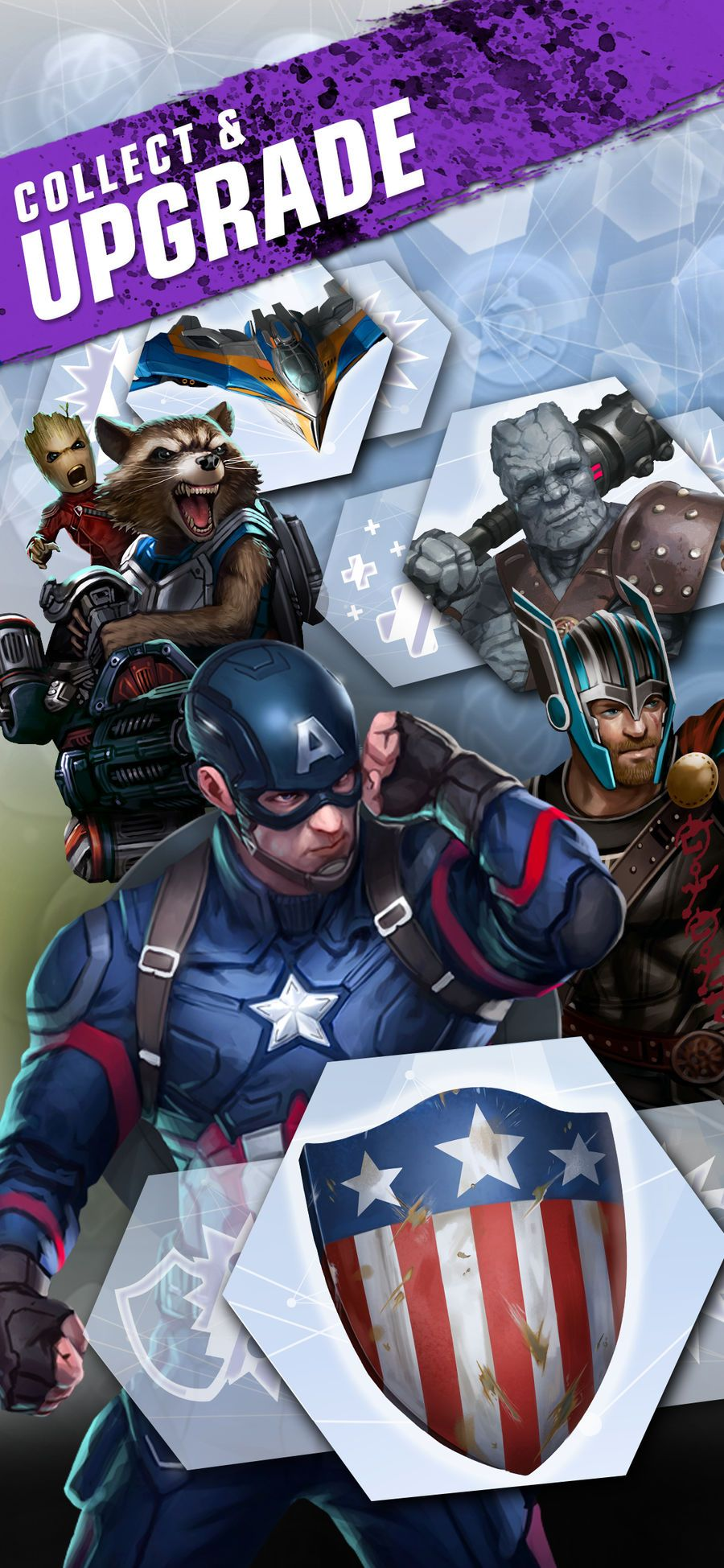 MARVEL Puzzle Quest PlayingRoleappsios Marvel puzzle