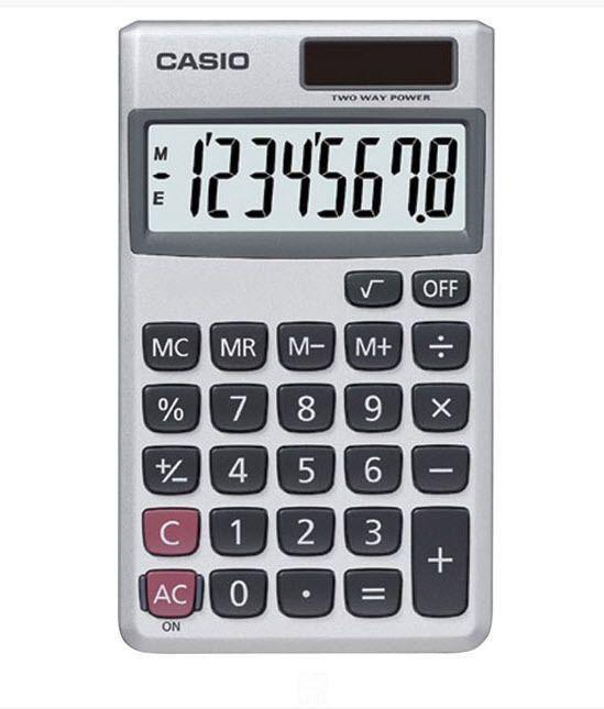 Business & Industrial Casio 8 Digit Solar Plus Battery Calculator ...