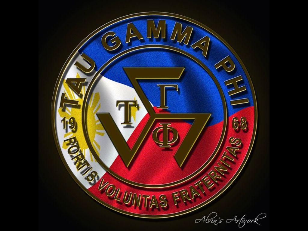Pilipinas Triskelion Tau Gamma Greek Symbol Gamma Phi
