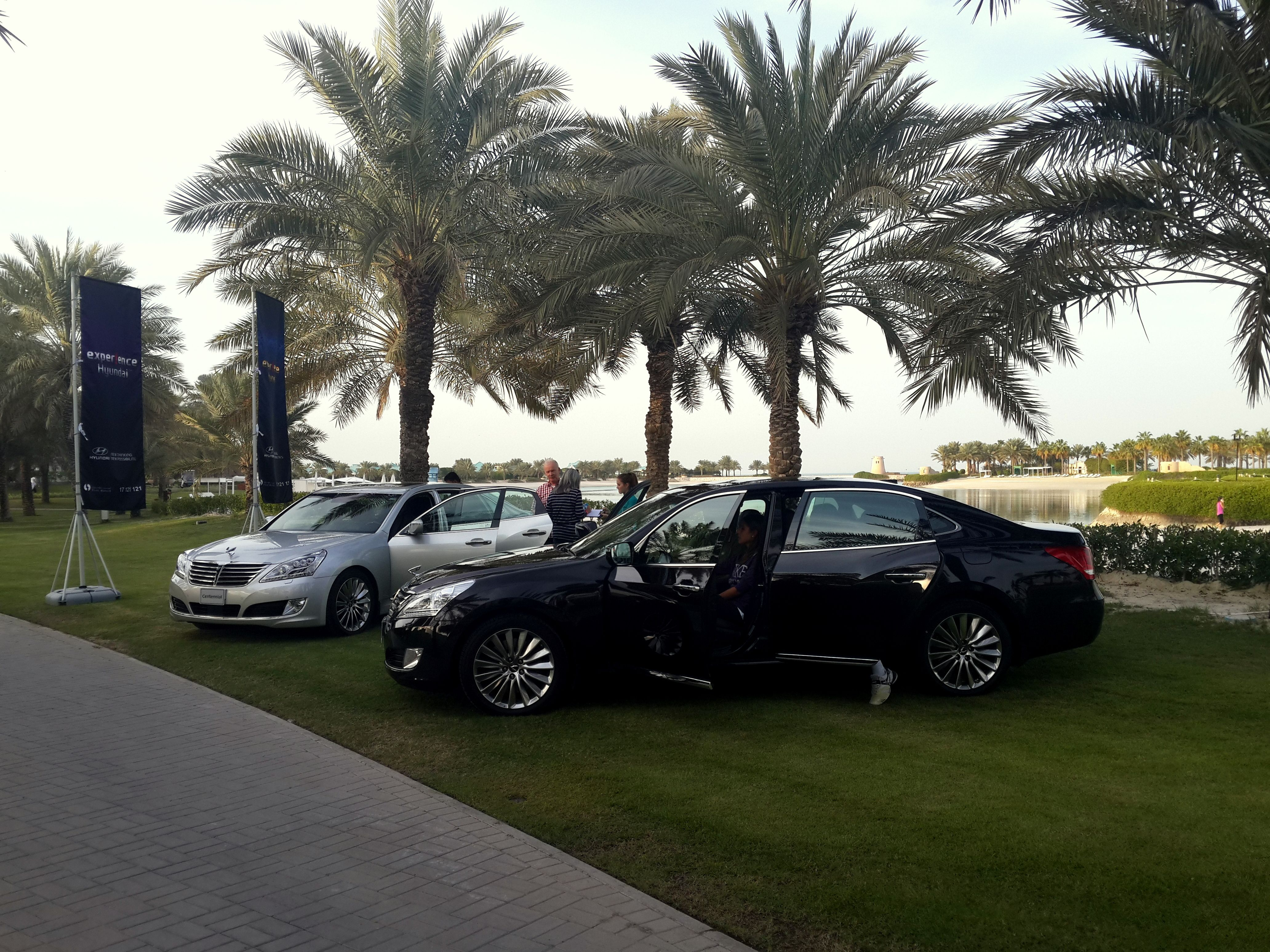 Hyundai Centennial at the Ritz Carlton Tennis tournaments