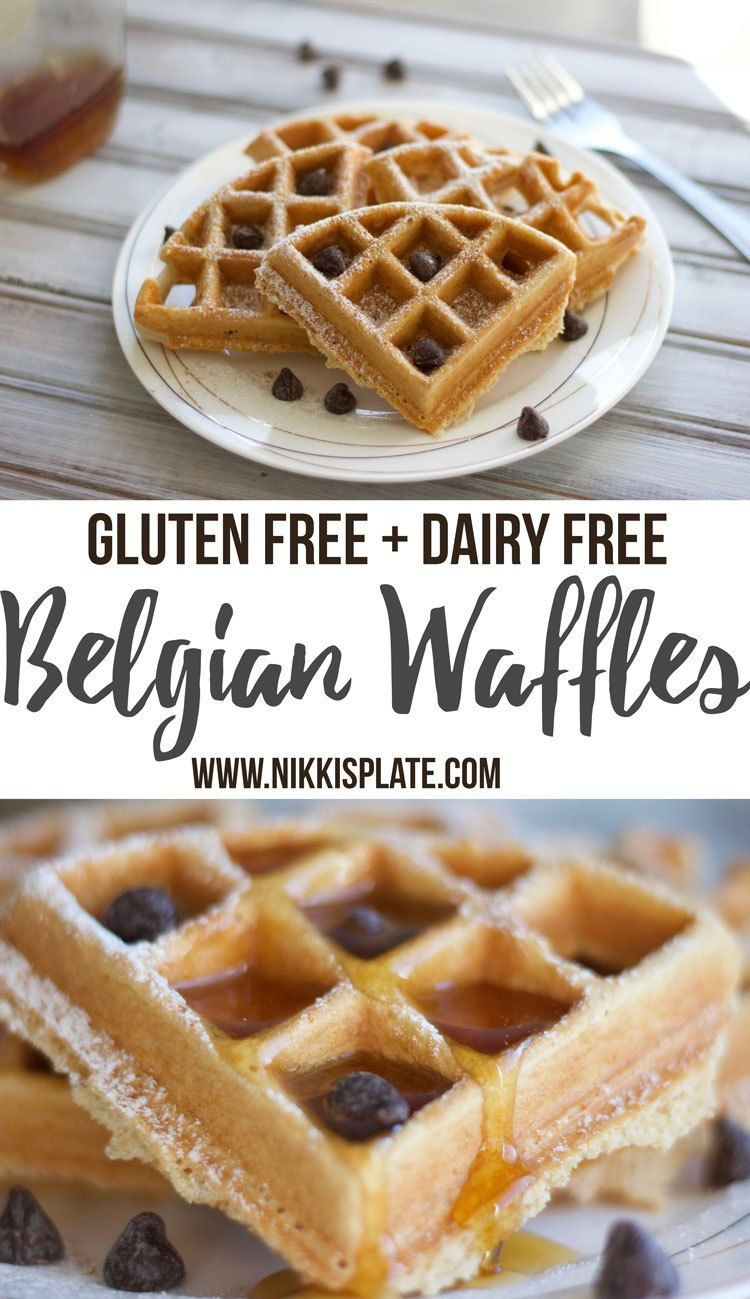 Easy Gluten And Dairy Free Belgian Waffles